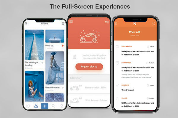 The Full-Screen Experiences