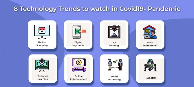 8 Technology Trends to watch in Covid-19 Pandemic