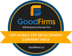 goodfirms - top mobile app development comp india
